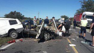 En grave accidente en la zona de La Picada