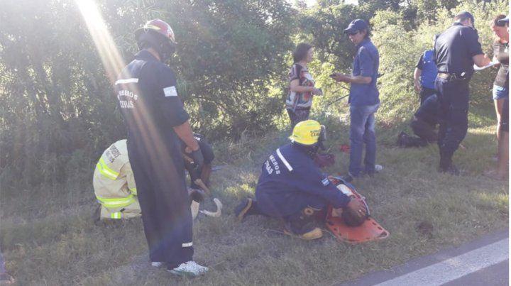 Murió un chico de 14 años en un accidente en la ruta 12