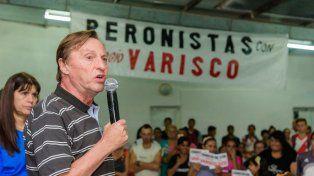 Varisco encabezó un acto con dirigentes y militantes del PJ en el club Instituto de Paraná