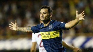 Zárate volvió a marcar en Boca.