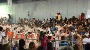 Más de 30 heridos al  desplomarse una tribuna en un carnaval cordobés