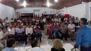 Paraná Campaña: el peronismo presentó sus candidatos en Cerrito y El Pingo