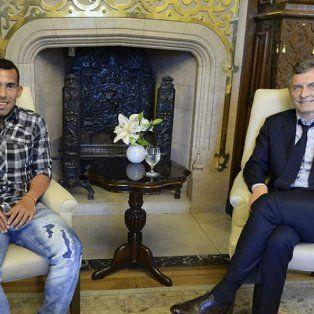 Tevez y Macri, socios en los parques eólicos