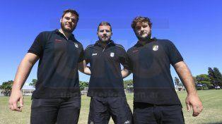 Trabajo en conjunto. Los chicos son jugadores del Albinegro desde los 8 años y vienen entrenando de la mejor manera con el grupo orientadores de la región. En M19 están con Nacho Miraglio.
