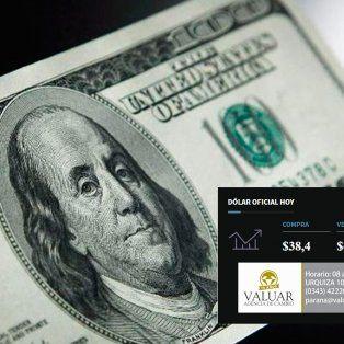 El dólar alcanzó su valor más alto en más de cuatro meses
