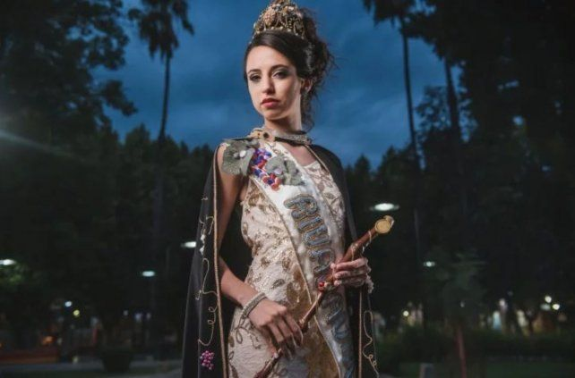 Aixa, la entrerriana que logró ser reina de la vendimia