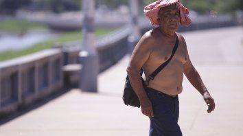 En Paraná la térmica llegó a los 38 grados