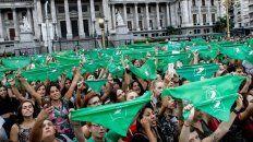 los panuelos verdes vuelven a la calle por el aborto legal