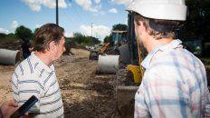 avanza la obra de renovacion de calle miguel david