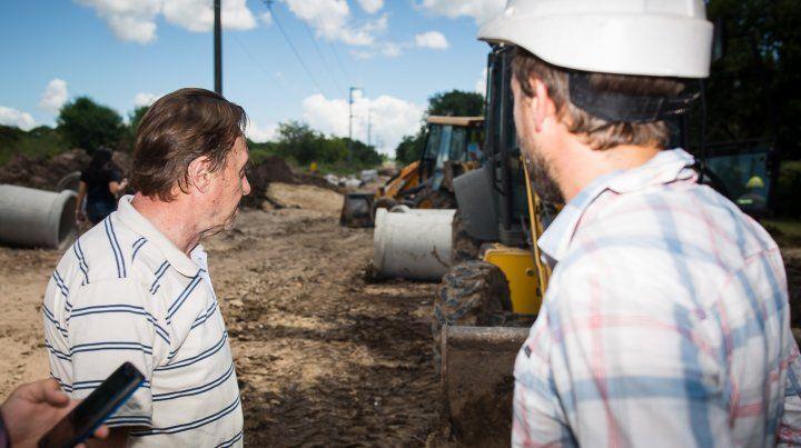 Avanza la obra de renovación de calle Miguel David