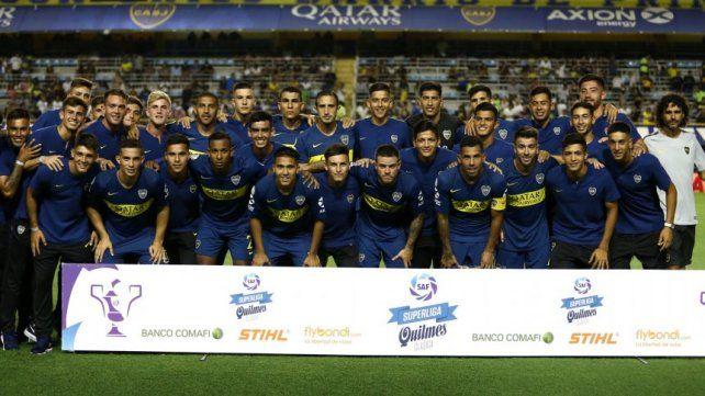 Boca viene de perder ante Atlético Tucumán.