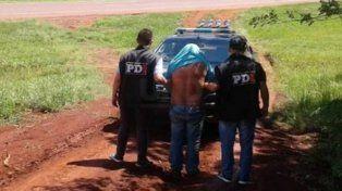 Capturado. El hombre fue arrestado por la PDI en Monte Carlos