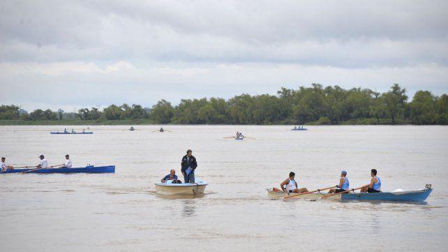 Postales del campeonato argentino de remo en las islas del Paraná