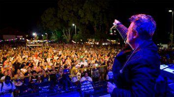 El músico generó la polémica desde Paraná.