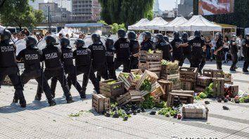 La represión en el último verdurazo será uno de los puntos en el reclamo.