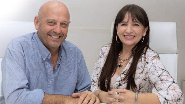 Miguel y Mariela aseguraron que el compromiso es trabajar por el triunfo del Frente Creer Entre Ríos.