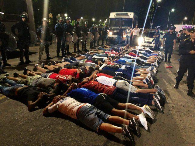 Más de 100 hinchas de Tigre detenido en encuentro por Copa Argentina