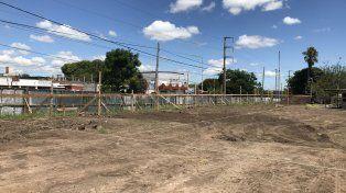 Avanzan los trabajos de construcción del nuevo Centro de Salud Dr. Illia