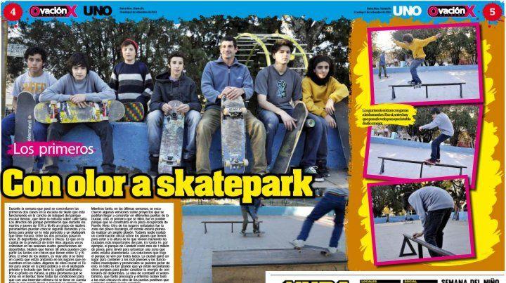 Luego del instructorado vuelve la Escuelita de Skate en Paraná
