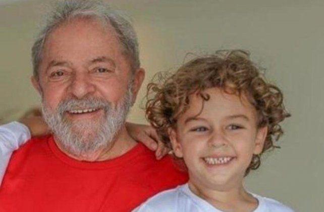 Dolor. El nieto de Lula falleció de meningitis.