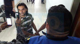 Aislado. El joven está apartado en la cárcel de la ciudad de Paraná por seguridad.