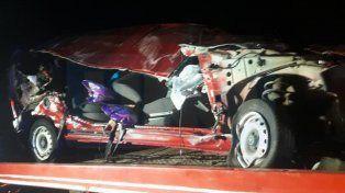 Ruta 14: Padre e hijo perdieron la vida en un accidente de tránsito