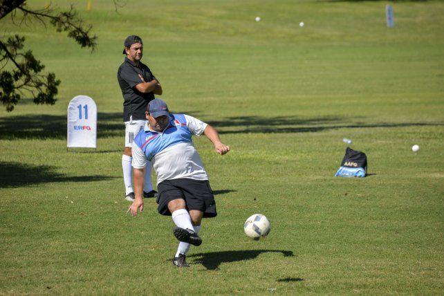 Así se vivió la fiesta del Footgolf en Paraná