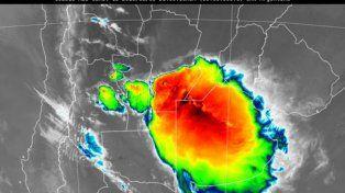 Rige un alerta meteorológico por tormentas intensas
