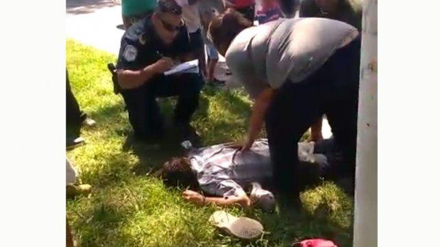 Un hombre de 42 años fue pisado  por las ruedas de un colectivo urbano