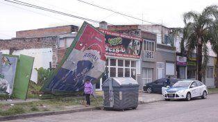 Consecuencias del temporal en Paraná