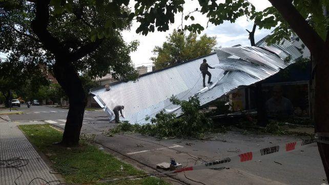 Santa Fe: la tormenta causó destrozos en la Ciudad Universitaria UNL