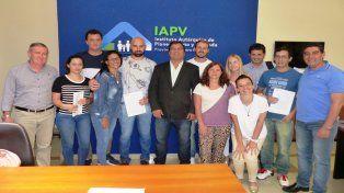 IAPV realizó los primeros desembolsos de créditos hipotecarios para construcción de viviendas en terreno propio