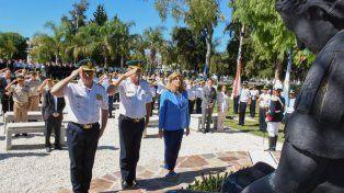 Acto en conmemoración de la creación de la Policía de Entre Ríos