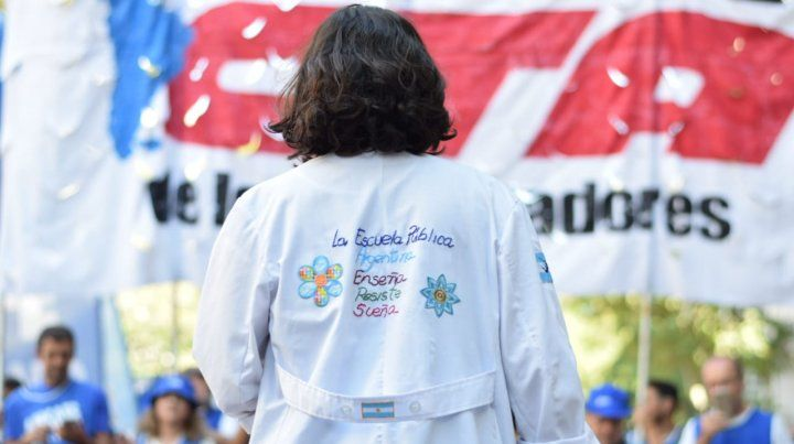 Foto gentileza La lucha en la Calle-AGMER