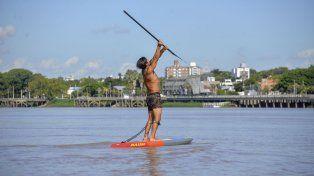 Es un amante del río Paraná.