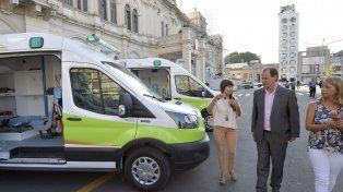 Incorporaron nuevas ambulancias al sistema público de salud