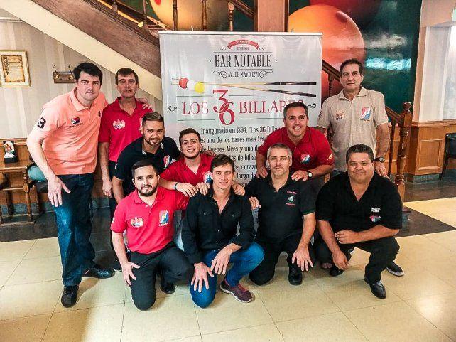 El equipo. Entre Ríos estuvo representado por 10 jugadores en el Nacional.