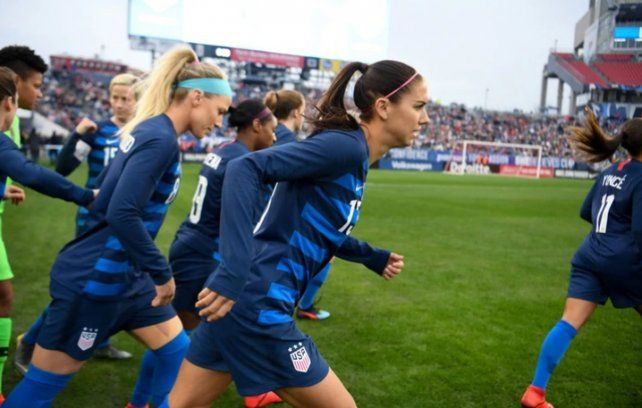 La selección femenina de Estados Unidos demandó a la Federación por discriminación