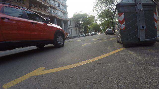 Así quedó Alameda de la Federación frente a escuela Del Centenario.