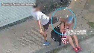 La historia detrás de la mujer brutalmente golpeada en la calle