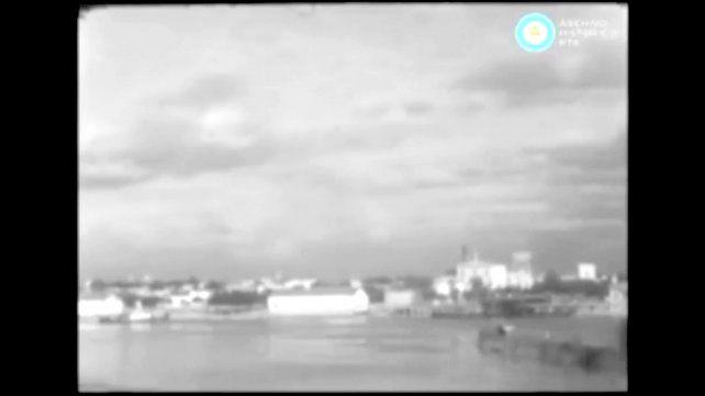 Las imágenes de un día histórico para Concepción del Uruguay hace 60 años