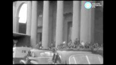 las imagenes de un dia historico para concepcion del uruguay hace 60 anos