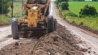 Fuerte inversión para recuperar los caminos afectados por el mal tiempo