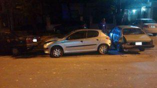 Detenido. Causó daños y heridos y fue localizado en el centro de Paraná.