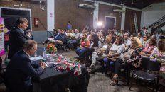 la municipalidad homenajeo a mujeres trabajadoras