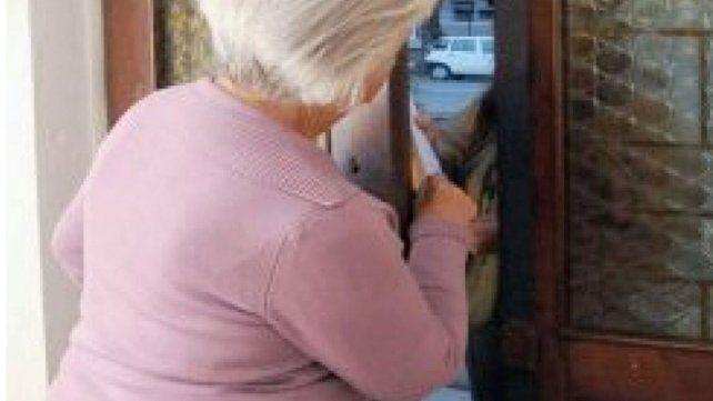 Víctimas. Las personas mayores son las más estafadas.