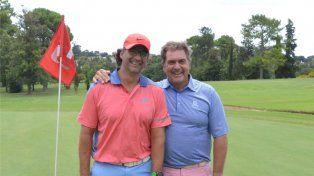 Pizzi disputó un certamen de golf en Paraná