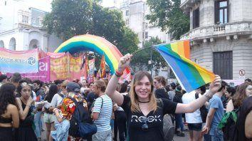 Victoria Antola en Buenos Aires.