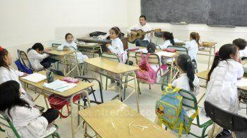 Tregua. Esta semana las clases se iniciaron con normalidad, mientras se negocia la pauta salarial con maestros.