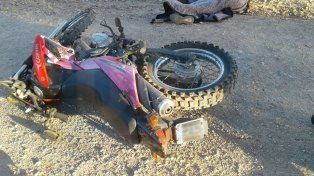 Libertador San Martín: Peatón falleció tras ser embestido por una motocicleta
